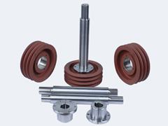 Pulley With Shaft Assembly